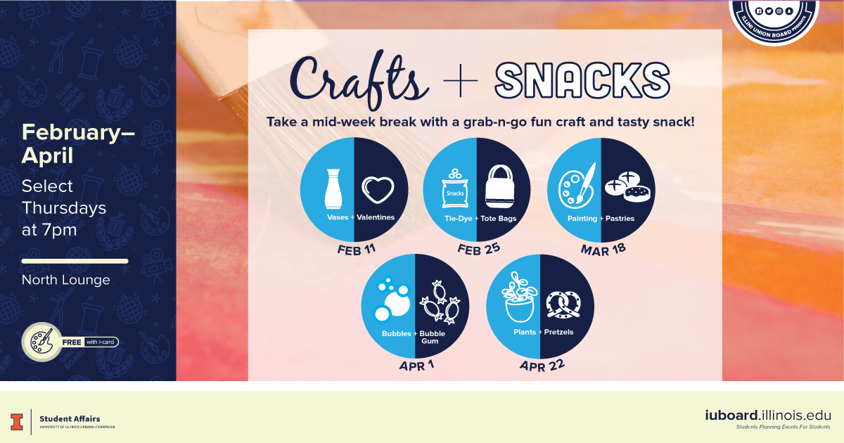 Crafts + Snacks 2021