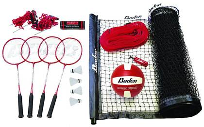 badminton and volleyball equipment